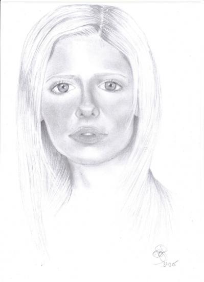 Sarah Michelle Gellar by draweraf